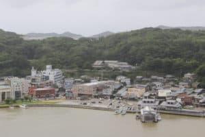 平戸城からの展望