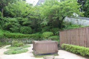 平戸城の井戸
