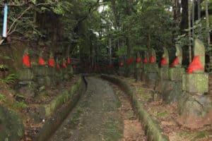 最教寺の石仏群