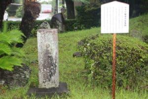 マリア観音の石仏像