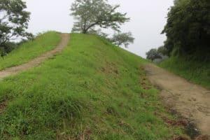 大野城の土塁