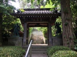 城願寺の山門