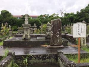 龍造寺家兼の墓
