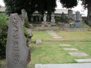 上泉伊勢守墓所(西林寺)