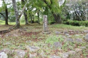 岡城の城代家老屋敷跡