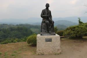 瀧廉太郎の銅像