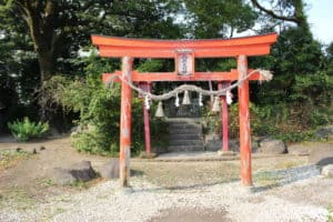 大分城の稲荷神社