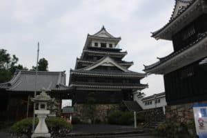 中津城の天守閣