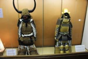 中津城の展示