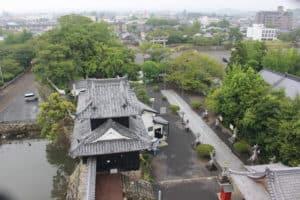 中津城からの展望