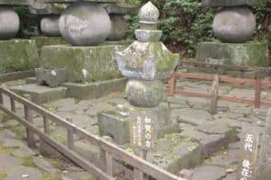 細川藤孝の娘・加賀の方の墓