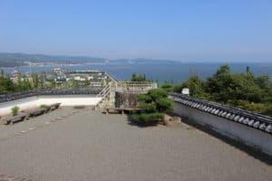 杵築城からの展望