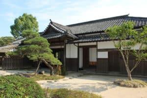 杵築藩の家老・大原邸