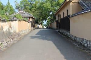 杵築城の城下町