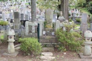 春日虎綱の墓(高坂昌信の墓)