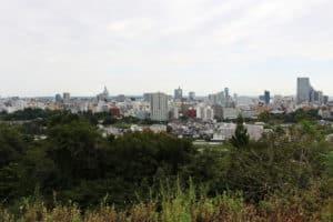 青葉城(仙台城)からの展望