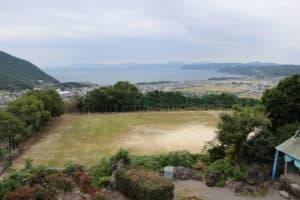 釜蓋城からの眺め