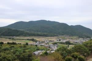釜蓋城からの展望