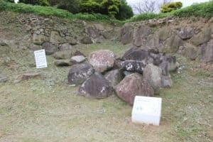 原城の石垣