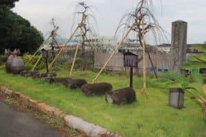島原城キリシタン墓碑
