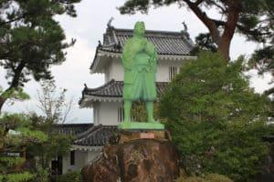 島原城・天草四郎の像