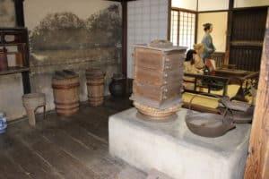 武家屋敷の台所