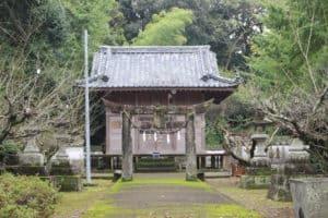 神代城(鶴亀城)の本丸