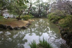 諫早陣屋の庭園