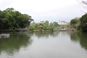 玖島城(大村城)の水堀