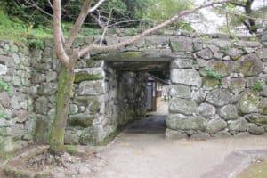 大手門脇の埋門