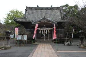 玖島城の本丸