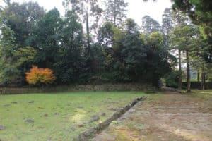 人吉城の本丸