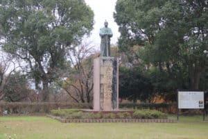 小西行長の銅像