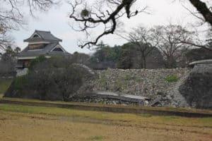 熊本城の戌亥櫓