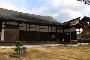 田峯城の本丸御殿