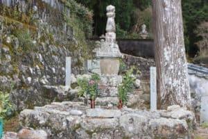 安芸国虎の墓