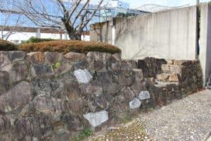 浦戸城の石垣