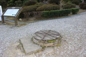 高知城の井戸