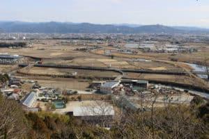 岡豊城からの眺め