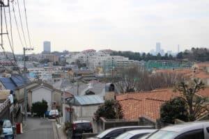 寺尾城(殿山公園)からの眺め