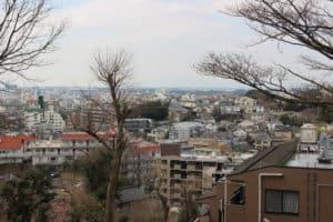 獅子ヶ谷城からの展望