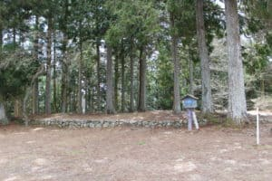 岩村城の本丸