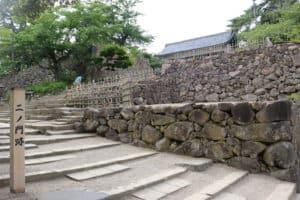 松江城のニの門跡