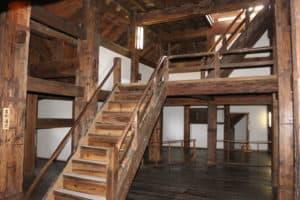 松江城の内部