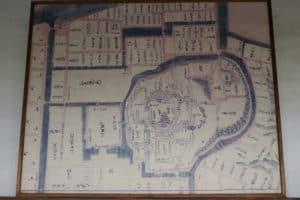 松江城の縄張り