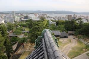 松江城からの展望