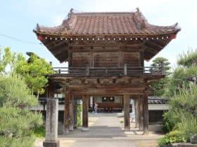 山名氏豊館跡(倉吉・大岳院)