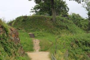 月山富田城の本丸