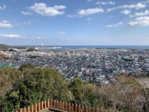 神倉神社からの展望