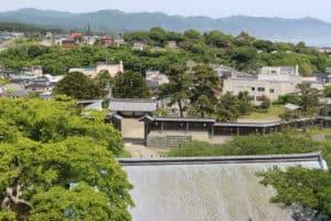 松前城からの眺め